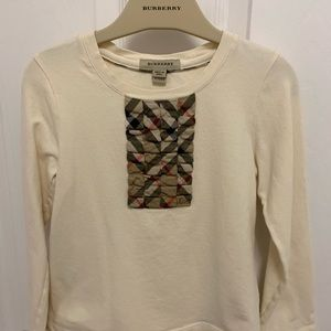 Burberry long sleeve - Size 4Y